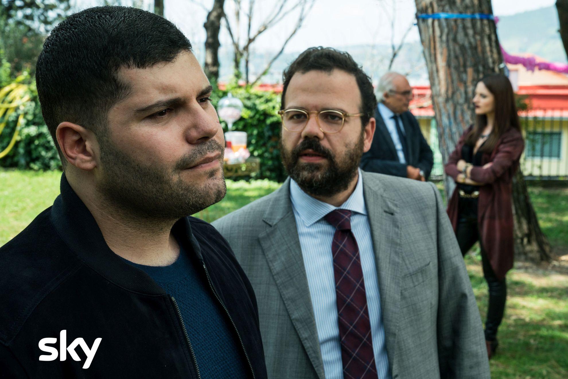 Gomorra - La Serie: un primo piano di Salvatore Esposito nell'ottavo episodio della quarta stagione