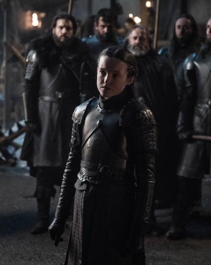 Il Trono di Spade 8x02: una foto di Lyanna