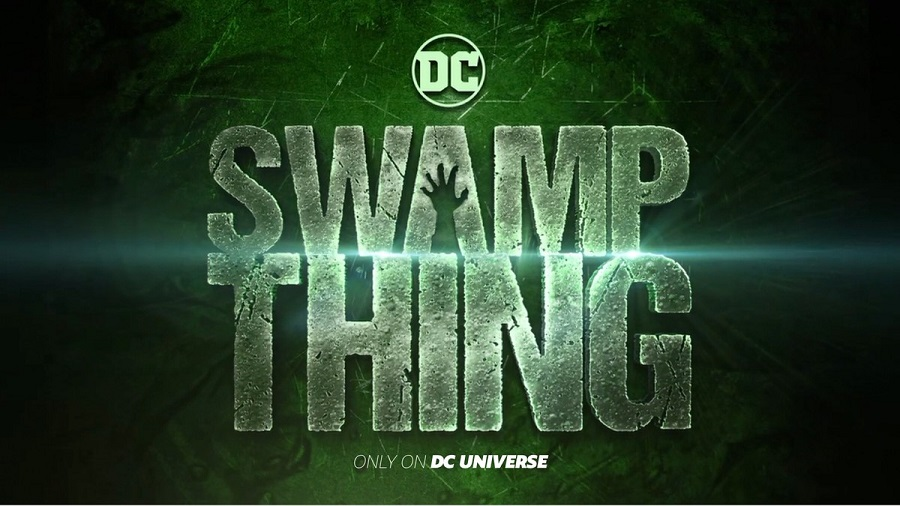 Swamp Thing: il logo della serie tv DC Universe