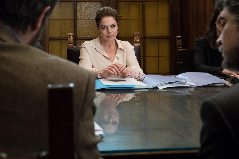 Non sono un assassino: Claudia Gerini in un momento del film