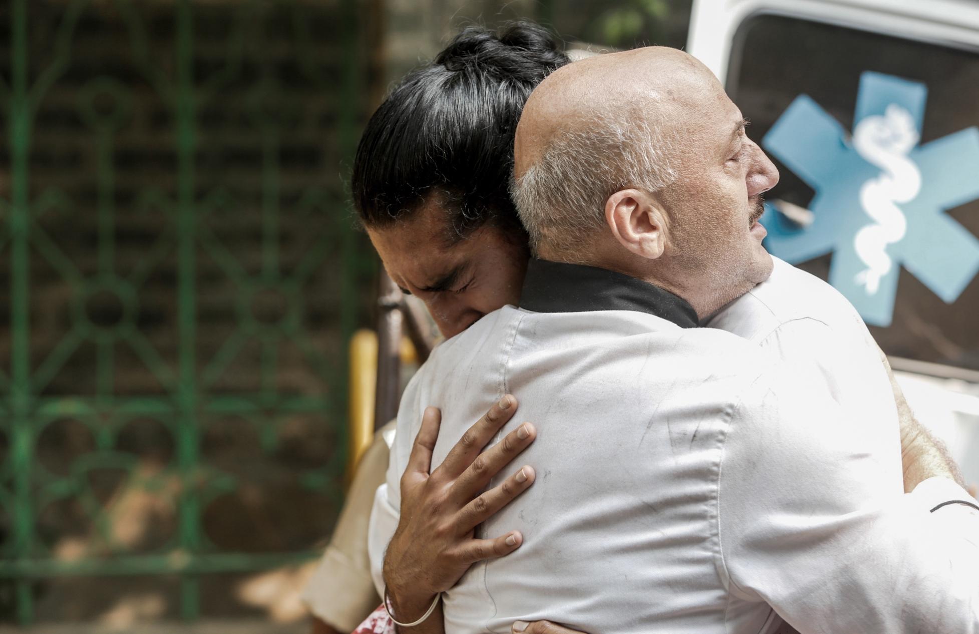 Attacco a Mumbai - Una vera storia di coraggio: una scena del film