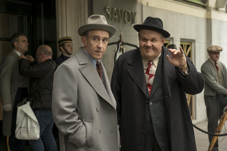 Stanlio e Ollio: Steve Coogan insieme a John C. Reilly in una scena