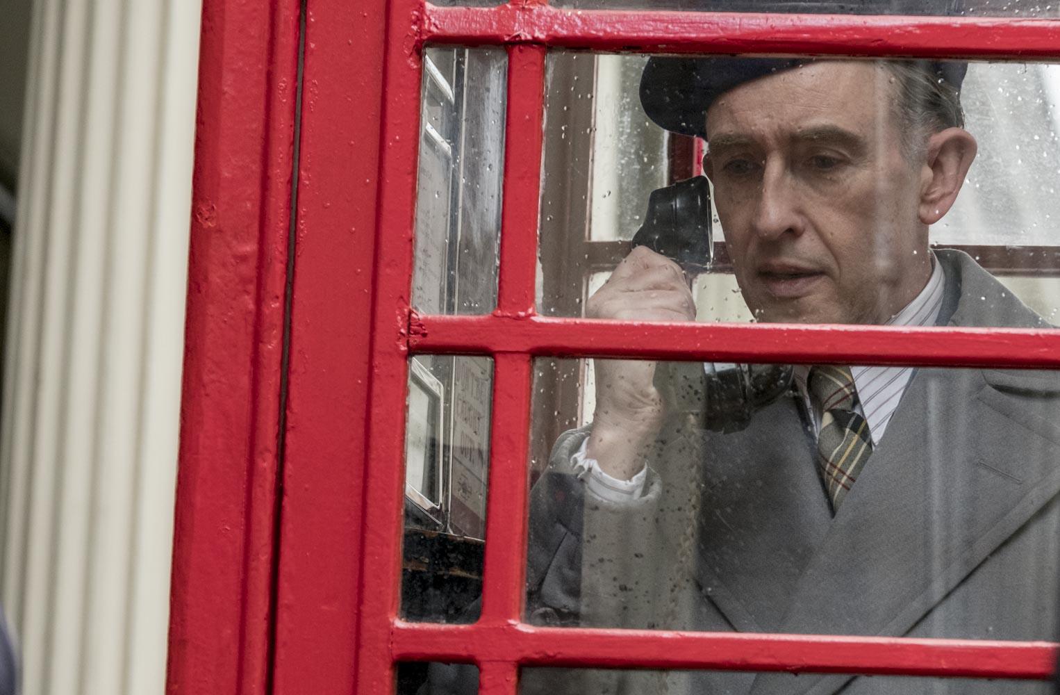 Stanlio e Ollio: Steve Coogan durante una scena del film
