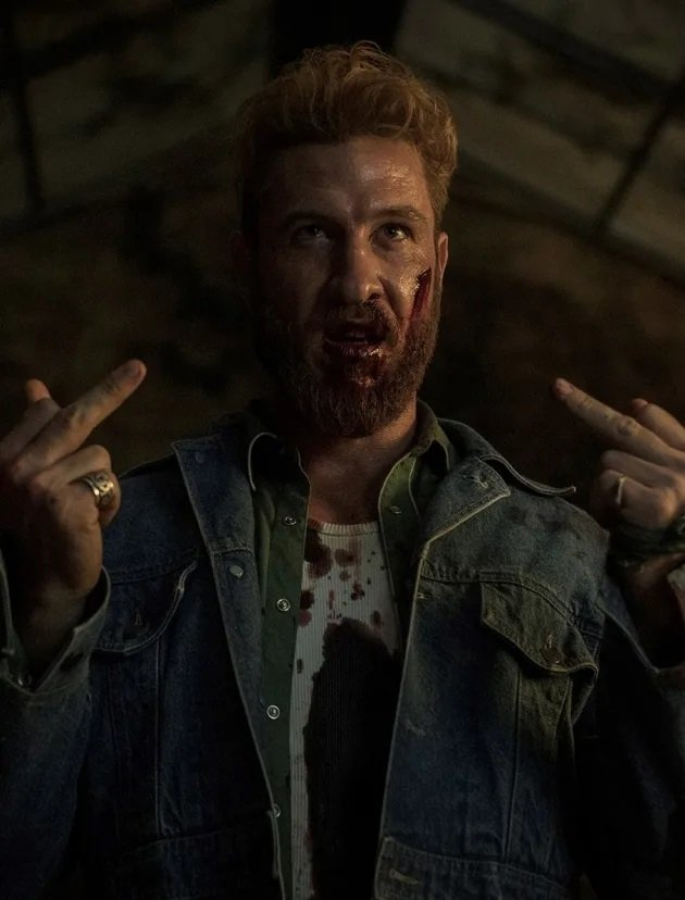 American Gods: Pablo Schreiber è Mad Sweeney nell'episodio Treasure of the Sun