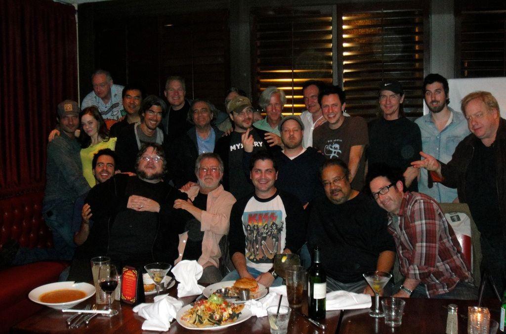 Mick Garris circondato dai Masters of Horror