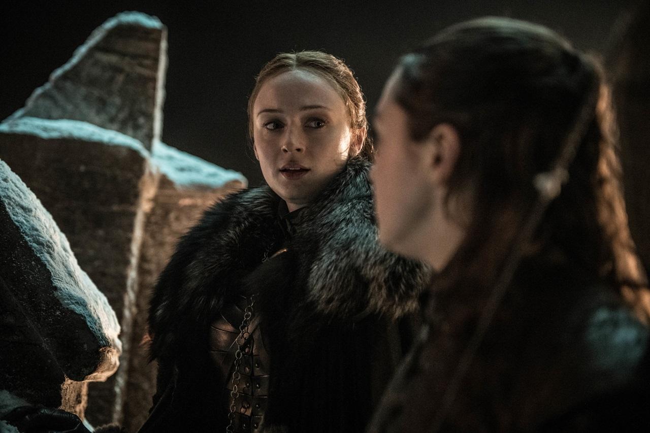 Il Trono di Spade 8x03: Sansa parla con Arya