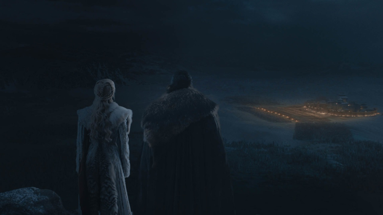 Il Trono di Spade 8x03: una foto di Daenerys e Jon Snow