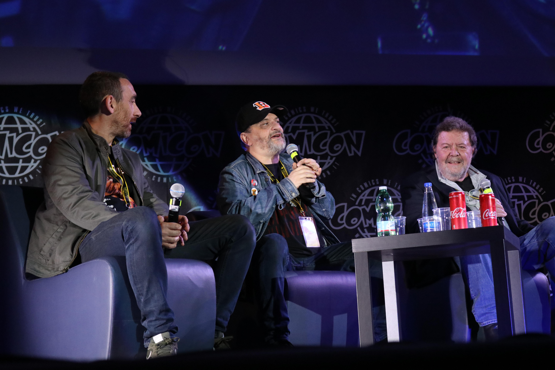 Comicon 2019: una foto di Antonio e Marco Manetti alla manifestazione