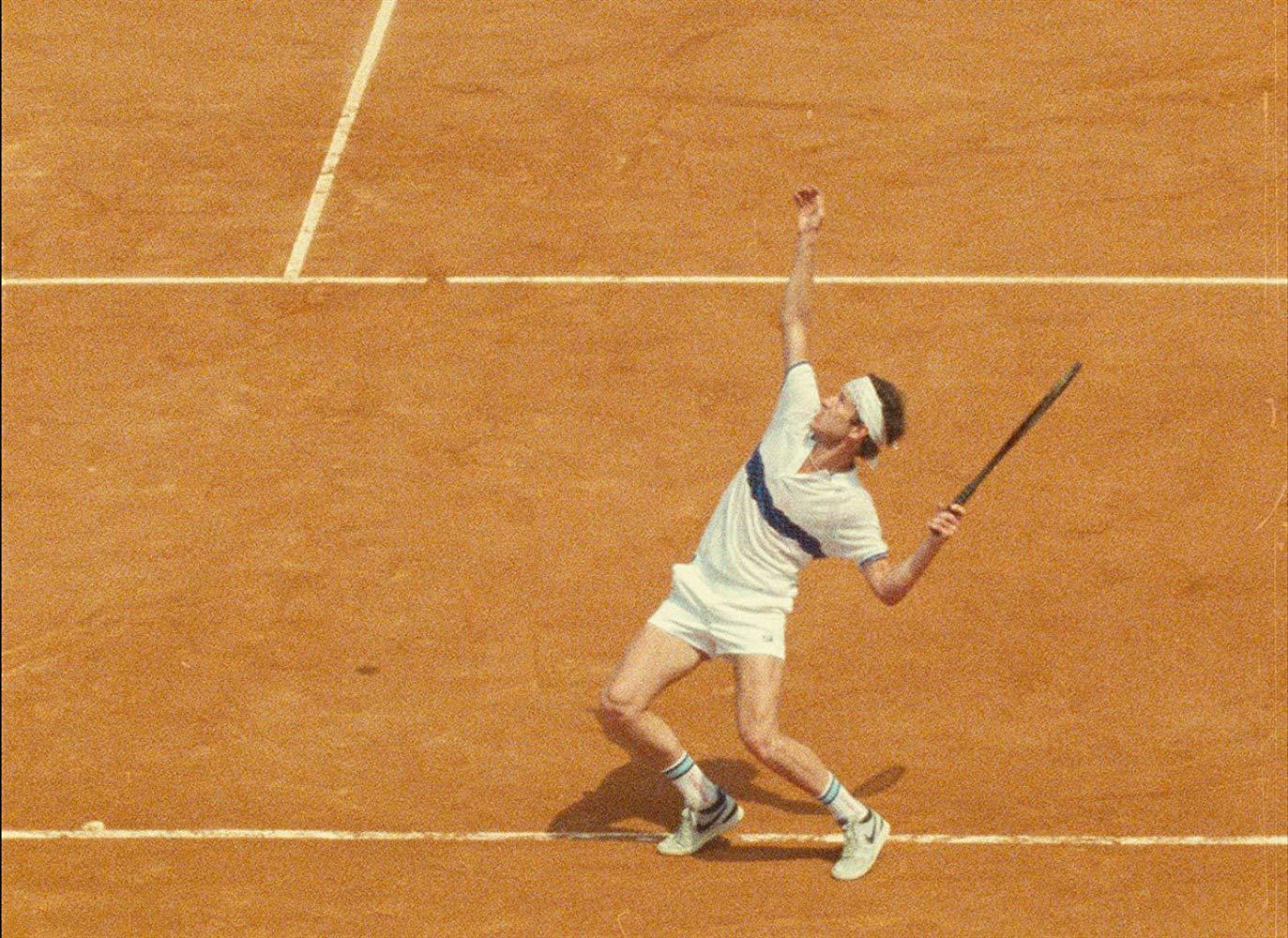 John McEnroe - L'Impero della Perfezione: McEnroe durante un incontro di tennis