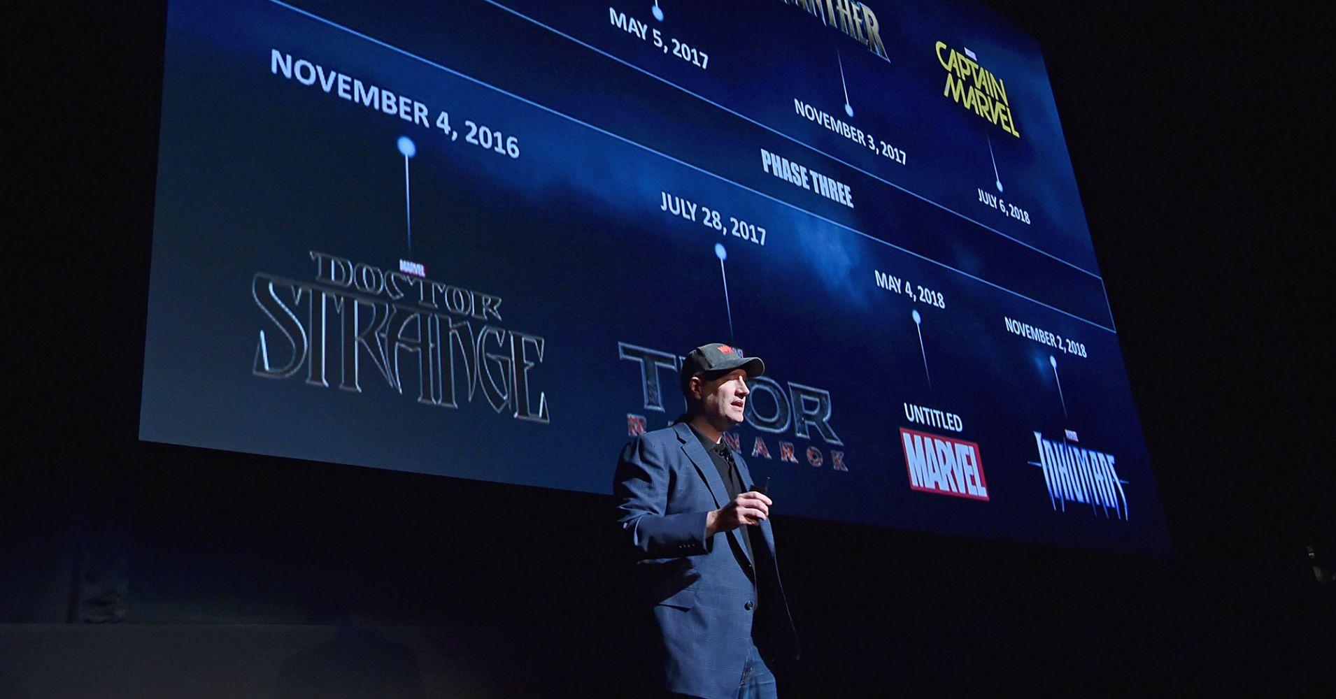 Kevin Feige, presidente dei Marvel Studios