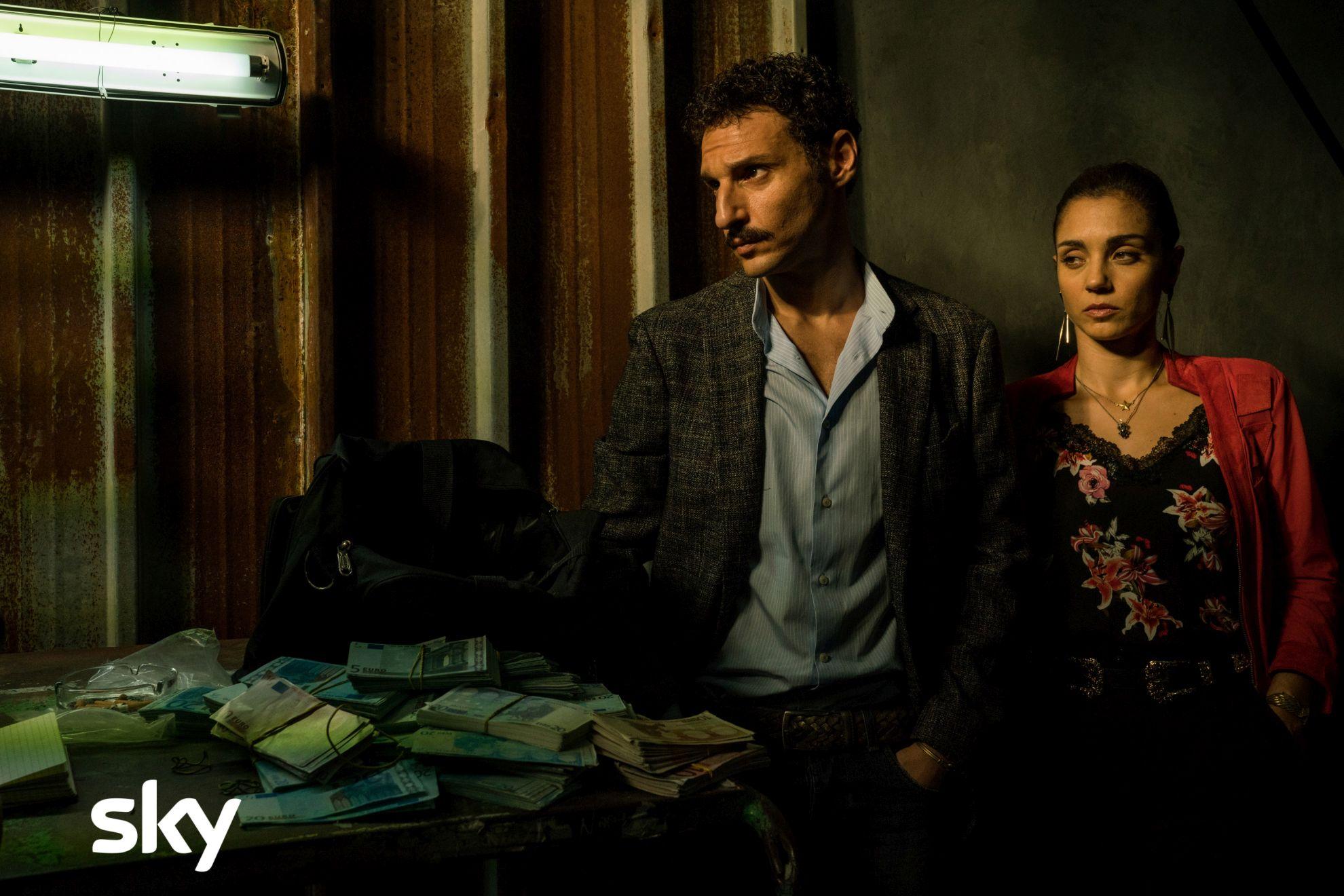 Gomorra - La Serie: Iana Lotito in una scena del decimo episodio della quarta stagione