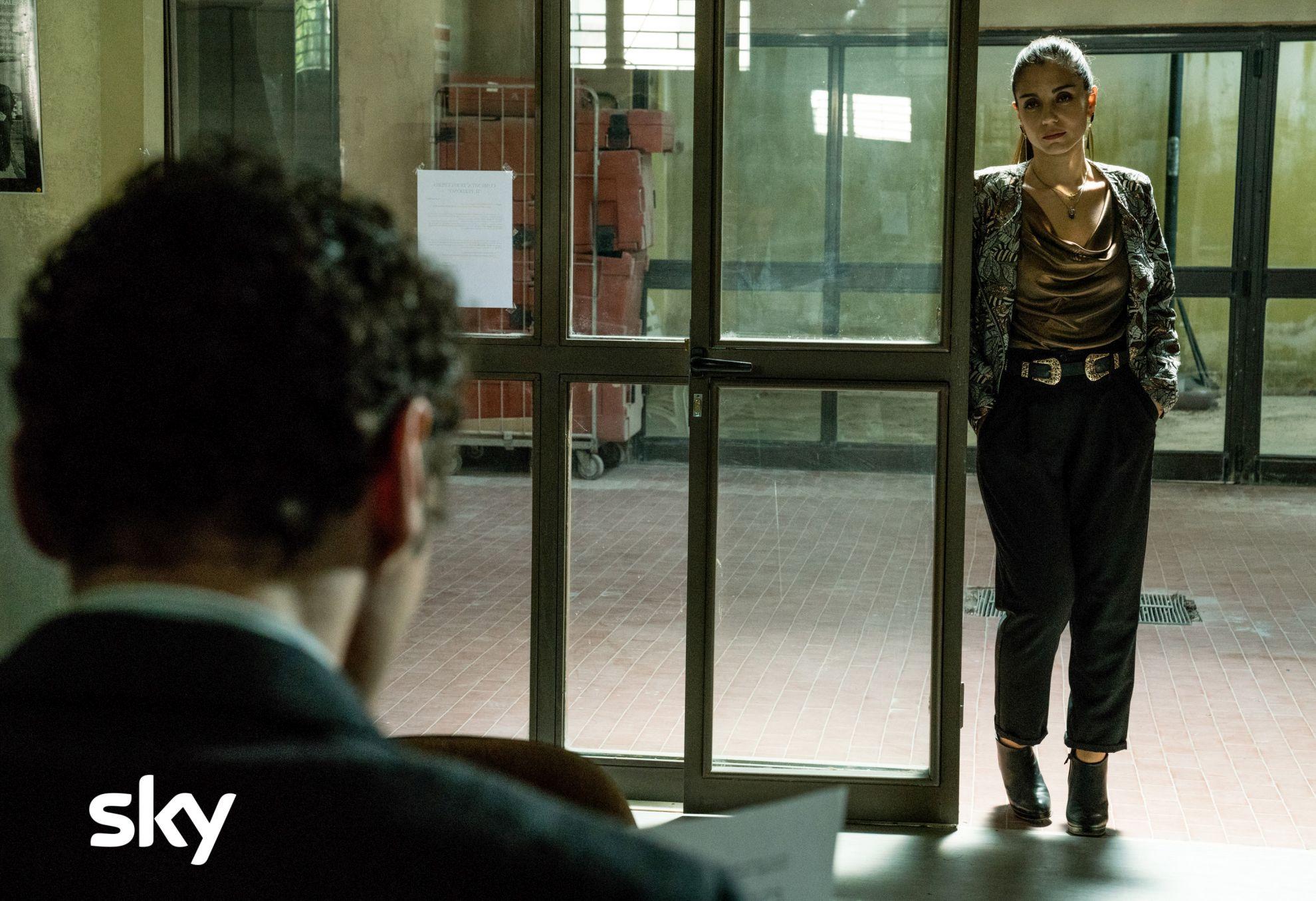 Gomorra - La Serie: una scena con Cristiana Dell'Anna nel decimo episodio della quarta stagione