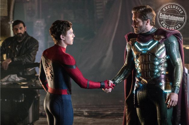 Spider-Man Far From Home, Tom Holland e Jake Gyllenhaal insieme