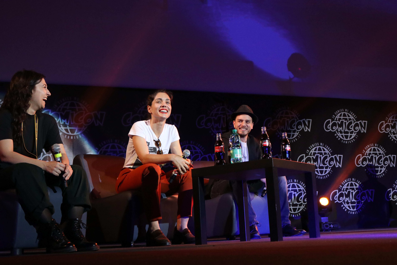 Comicon 2019: gli attori Arturo Muselli e Cristiana Dell'Anna alla manifestazione per parlare di Gomorra - La serie