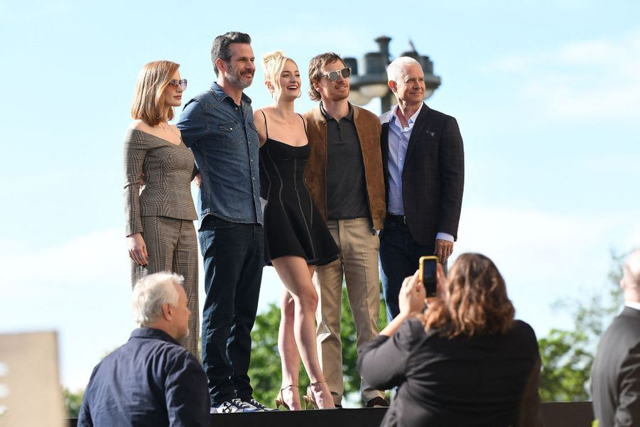 X-Men: Dark Phoenix, le star del film al photocall