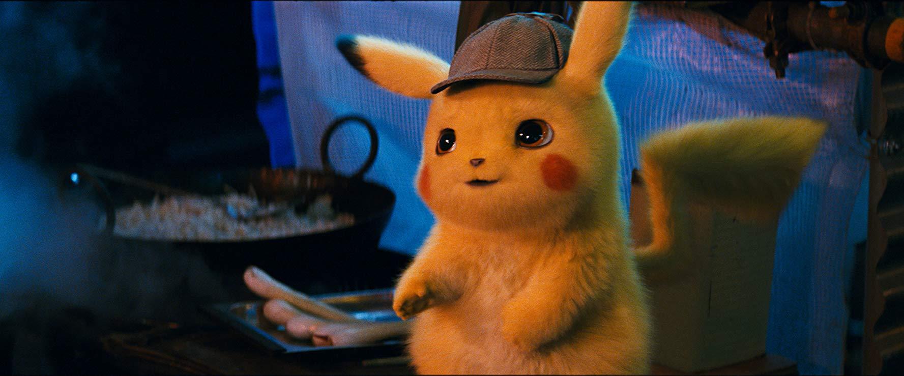 Detective Pikachu: l'adorabile Pikachu con il berretto da investigatore