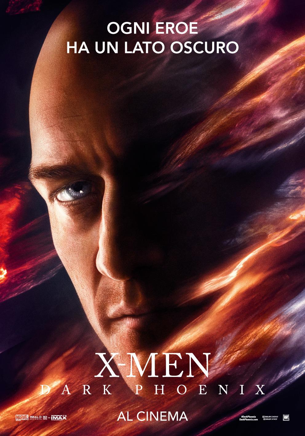 X-Men: Dark Phoenix, il character poster per il Professor Xavier