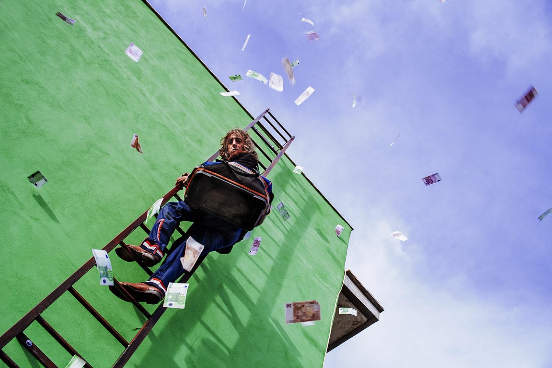 Il Grande Spirito: una scena del film con Sergio Rubini