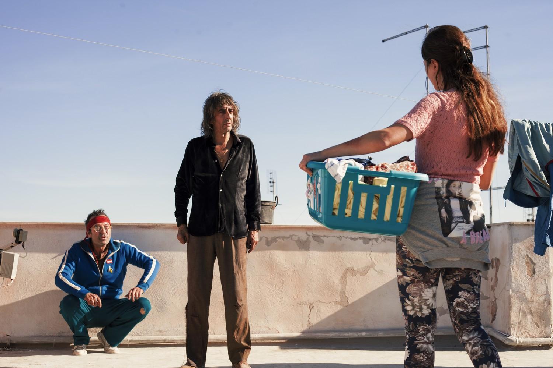 Il Grande Spirito: Rocco Papaleo e Sergio Rubini durante una scena