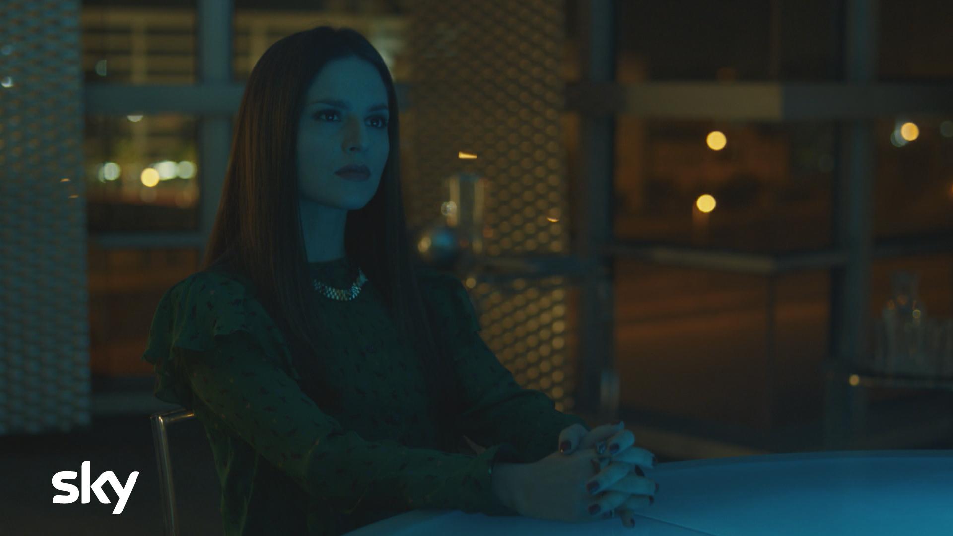 Gomorra La Serie: una scena con Ivana Lotito nell'undicesimo episodio della quarta stagione