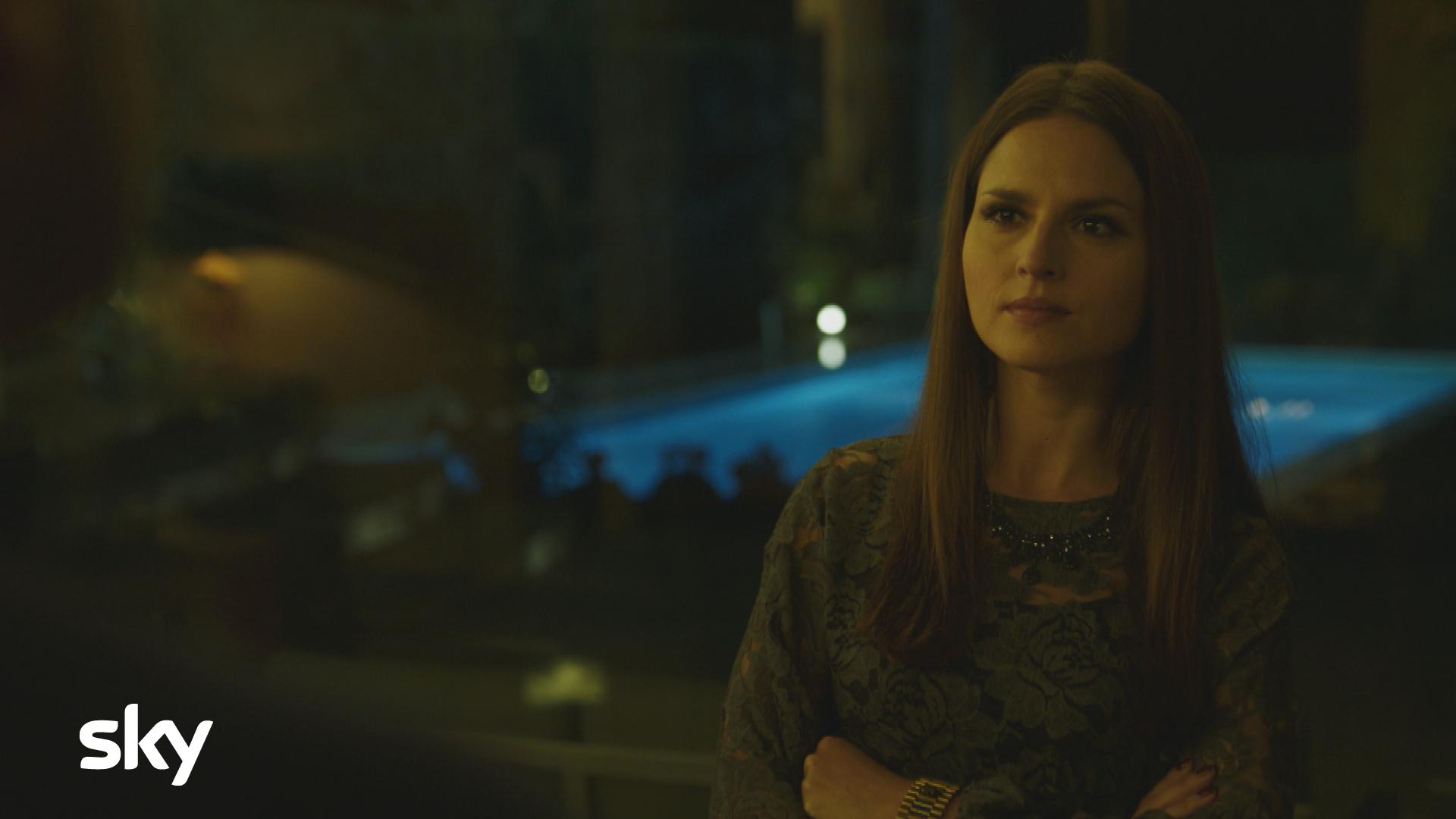 Gomorra La Serie: Ivana Lotito in una scena dell'undicesimo episodio della quarta stagione