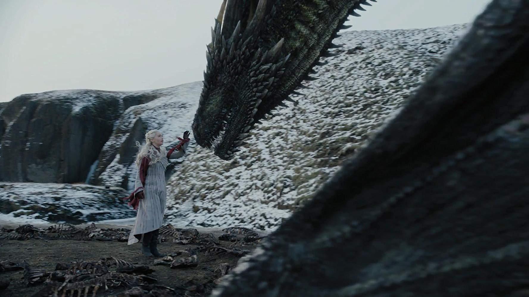 Il trono di spade: Emilia Clarke nel quarto episodio, stagione 8