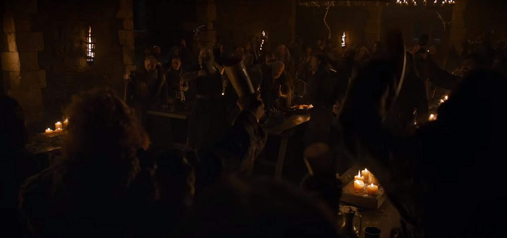 Il trono di spade: una scena del quarto episodio, stagione 8
