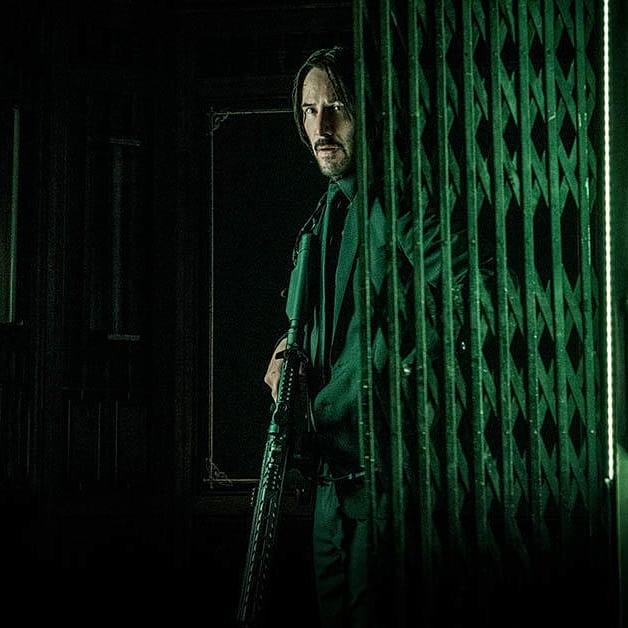 John Wick 3: Parabellum, una scena con Keanu Reeves