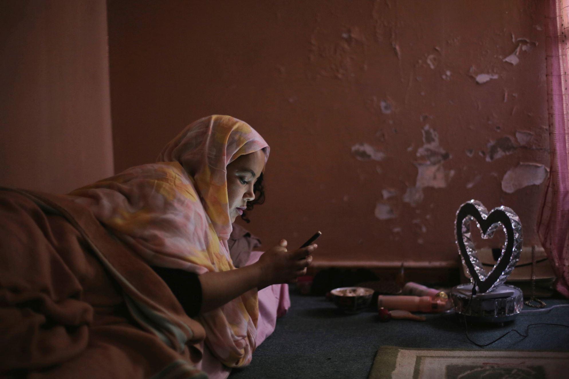 Il corpo della sposa: Verida Beitta Ahmed Deiche in un momento del film