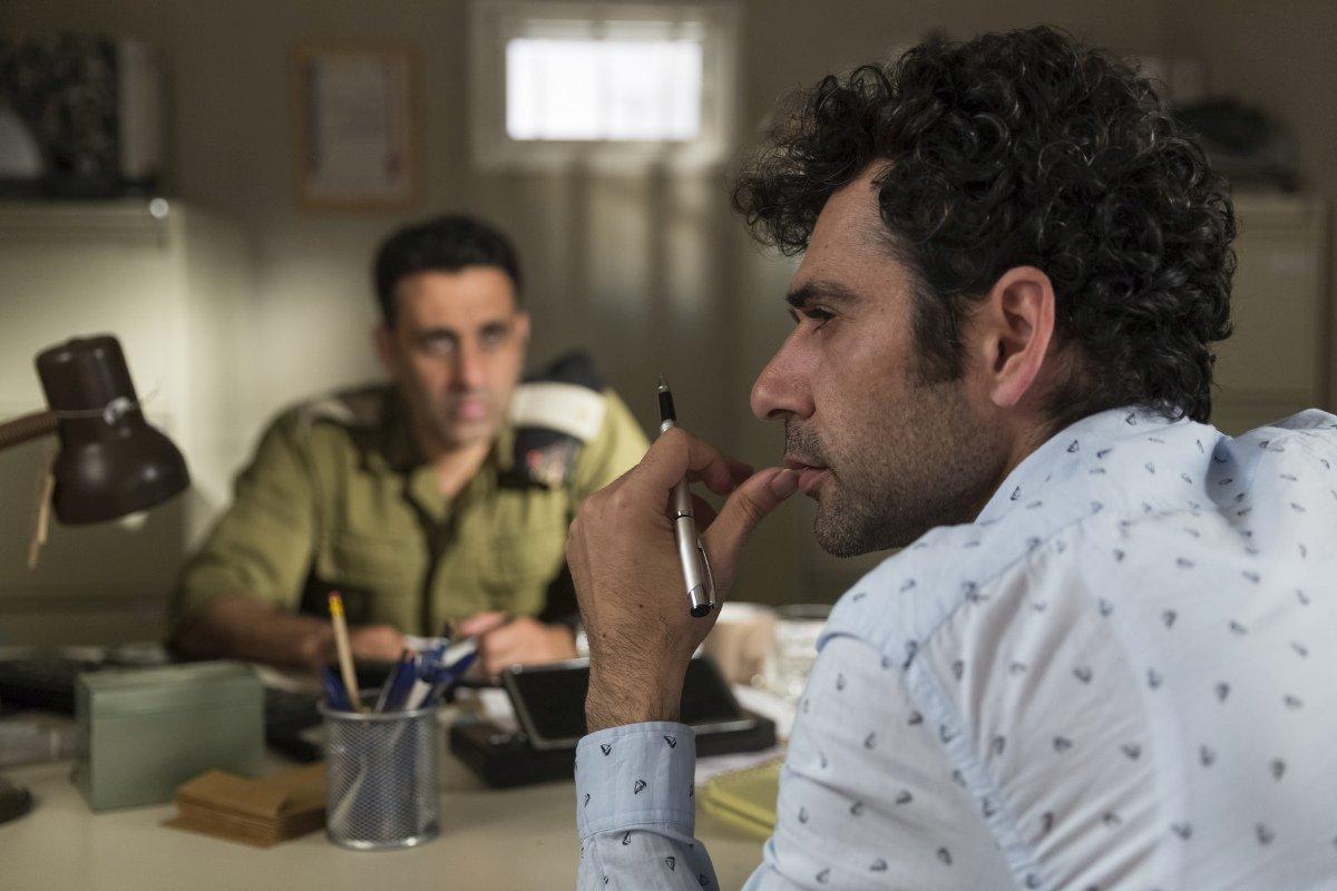 Tutti pazzi a Tel Aviv: Kais Nashif in una scena