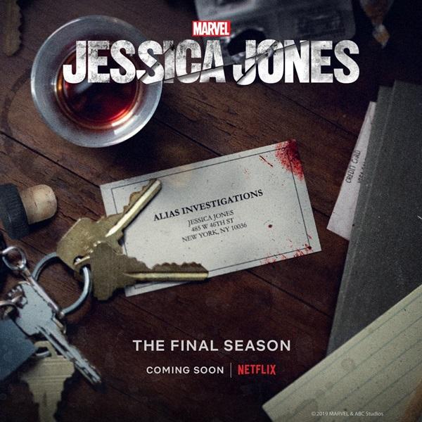 Jessica Jones 3: una foto promozionale