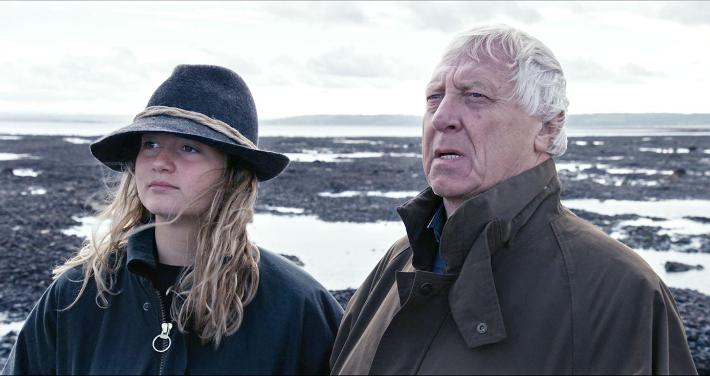 L'alfabeto di Peter Greenaway: una scena con Peter Greenaway e sua figlia Pip