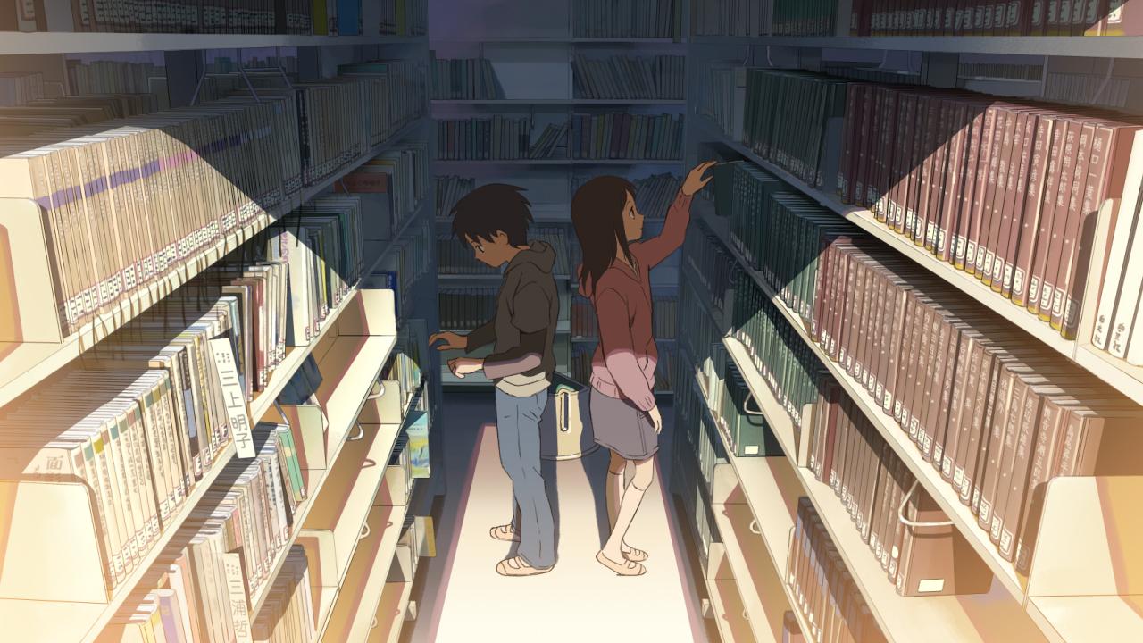 5 cm al secondo: un'immagine del film d'animazione