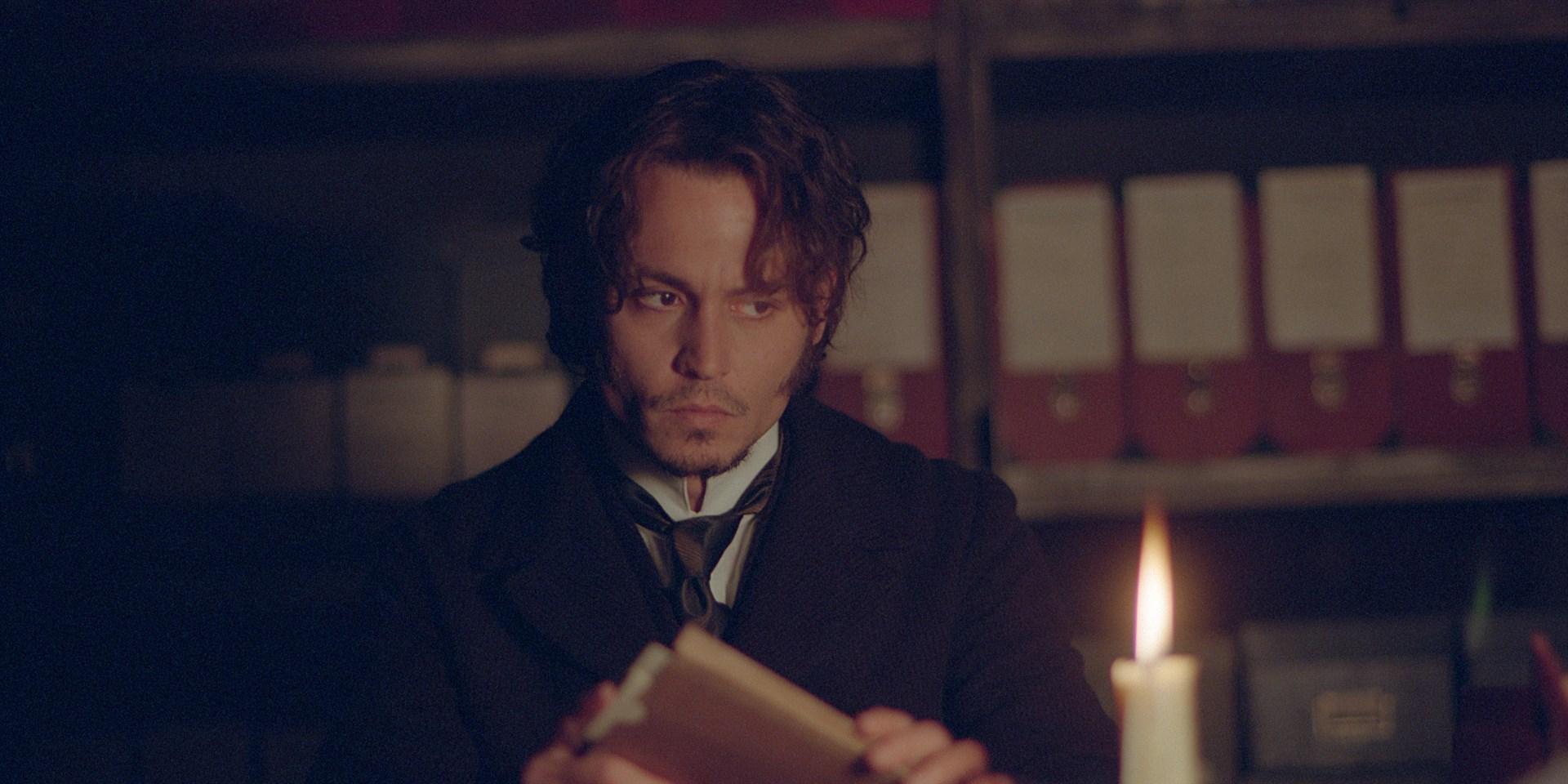 Johnny Depp in La vera storia di Jack lo Squartatore