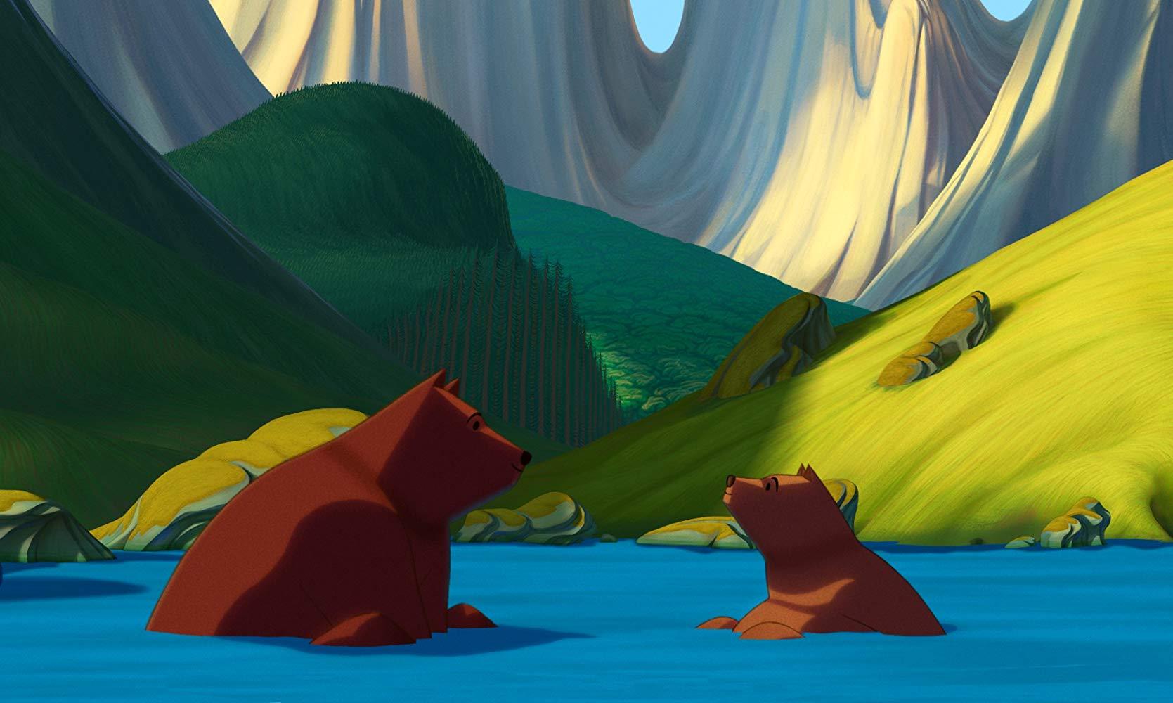 La famosa invasione degli orsi in sicilia: una scena del film animato