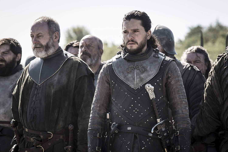 Il trono di spade: Liam Cunningham, Kit Harington nel penultimo episodio della serie