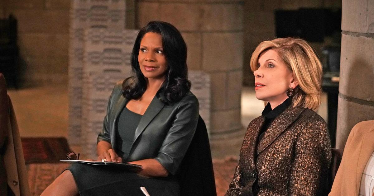 The Good Fight: Audra McDonald  e Christine Baranaski in una scena della terza stagione
