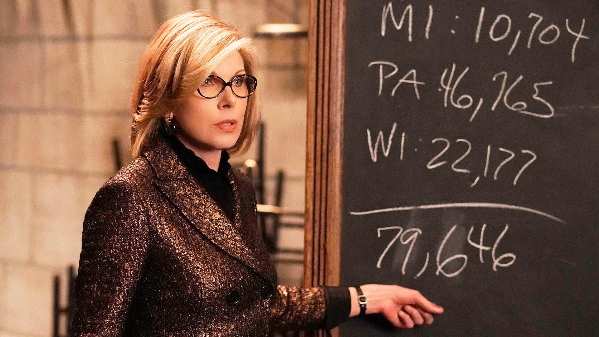 The Good Fight: Christine Baranski  in una scena della terza stagione