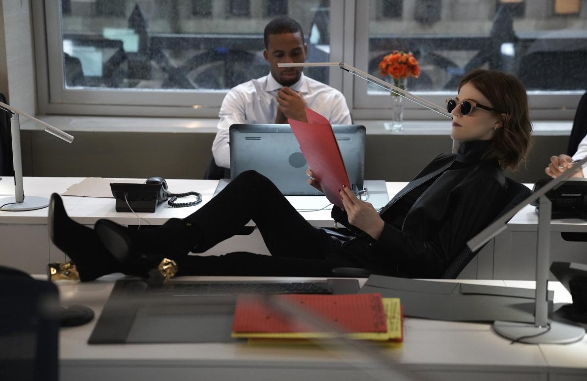 The Good Fight:Rose Leslie  in una scena della terza stagione