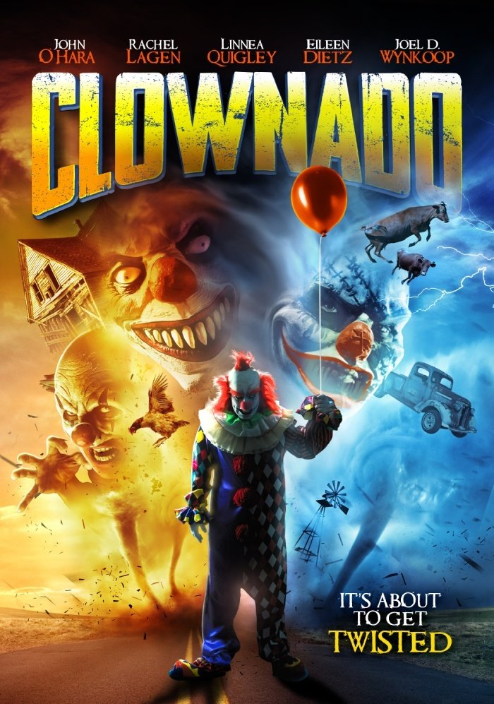 Clownado: la locandina ufficiale