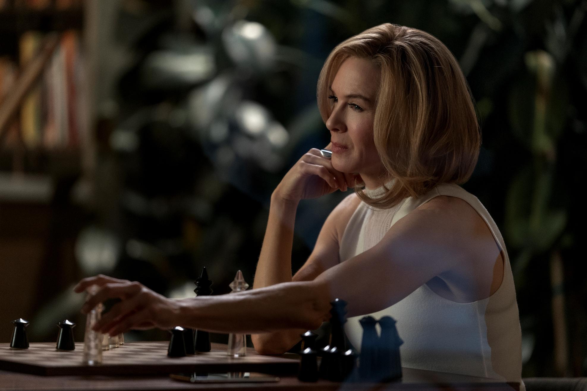 What/If: Renée Zellweger durante una scena