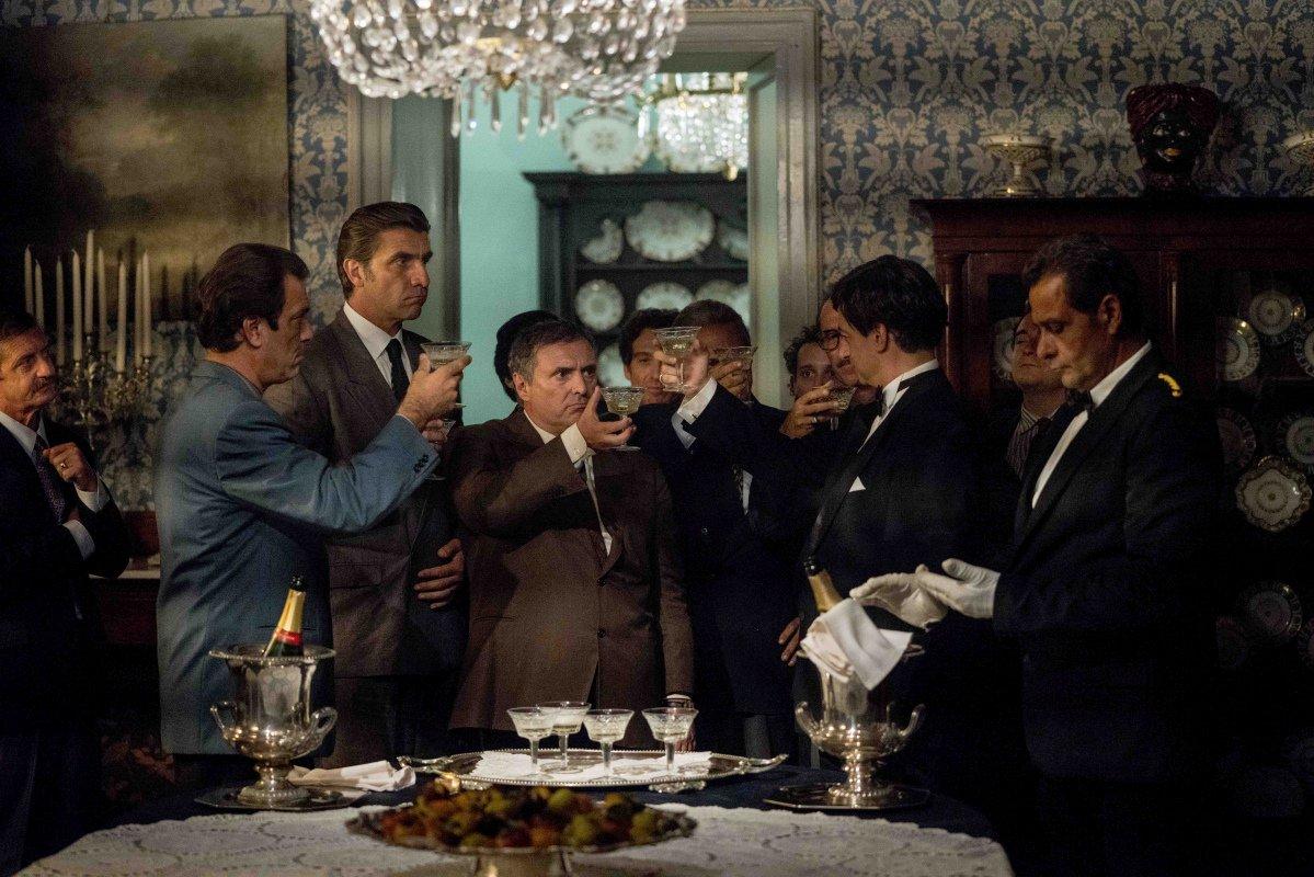 Il Traditore: un' immagine del film