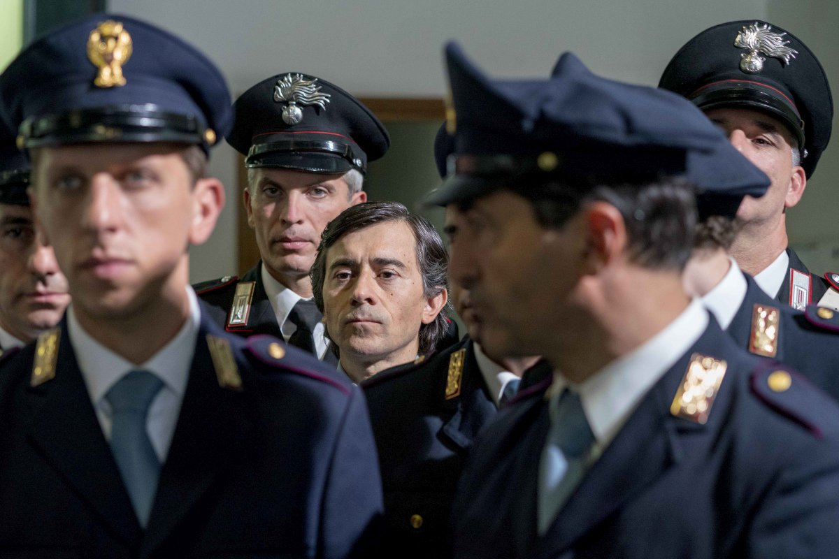 Il Traditore: Luigi Lo Cascio in una scena del film