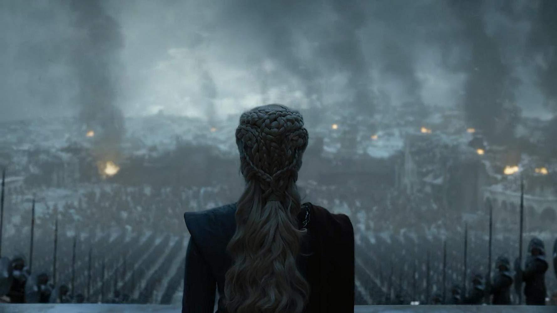 Il trono di spade: Emilia Clarke durane il finale di serie