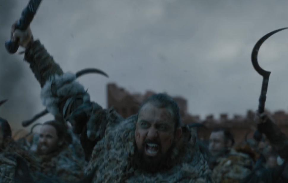 Il trono di spade: i Dothraki esultano per la vittoria in un'immagine del finale di serie