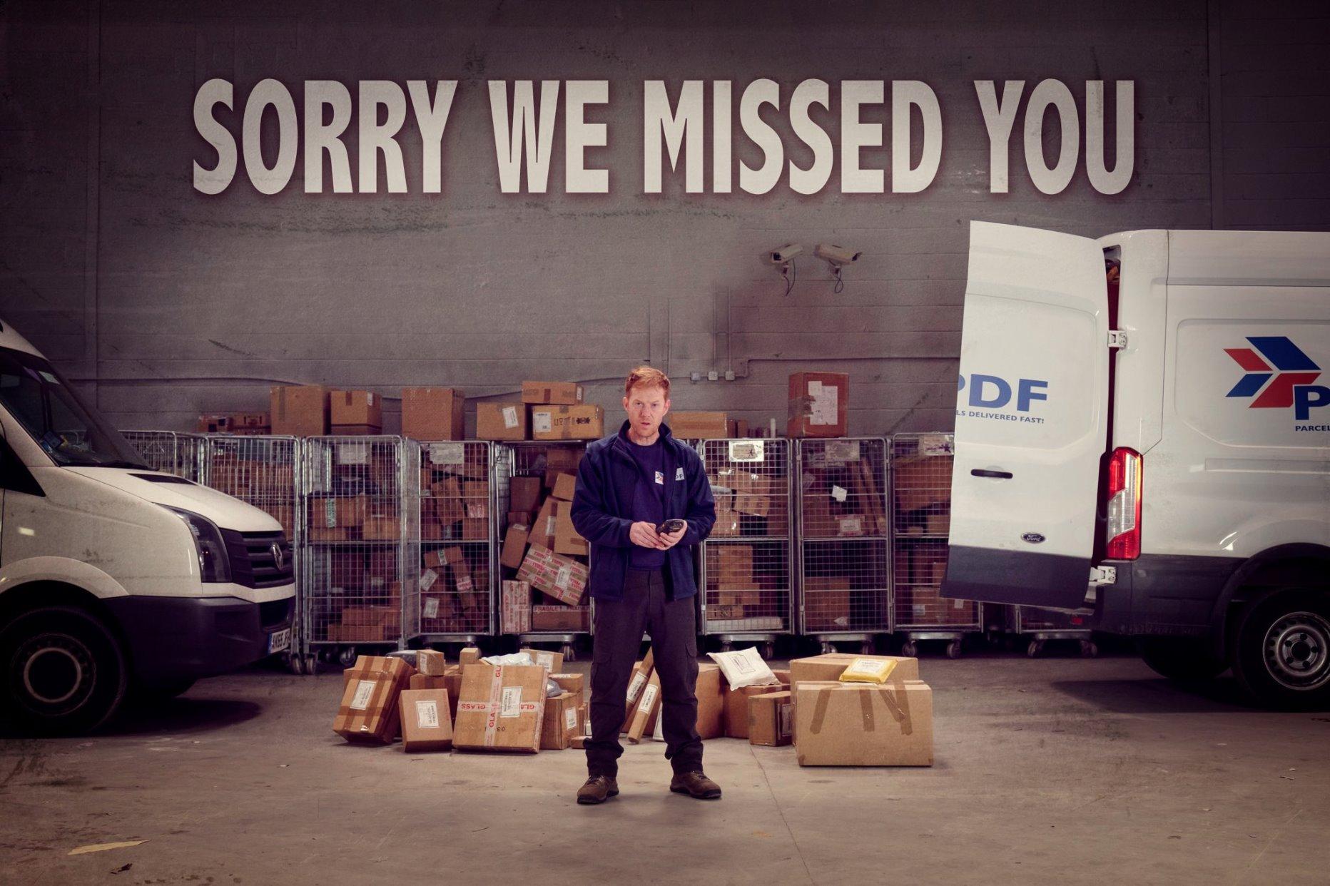 Sorry We Missed You: un'immagine promozionale del film