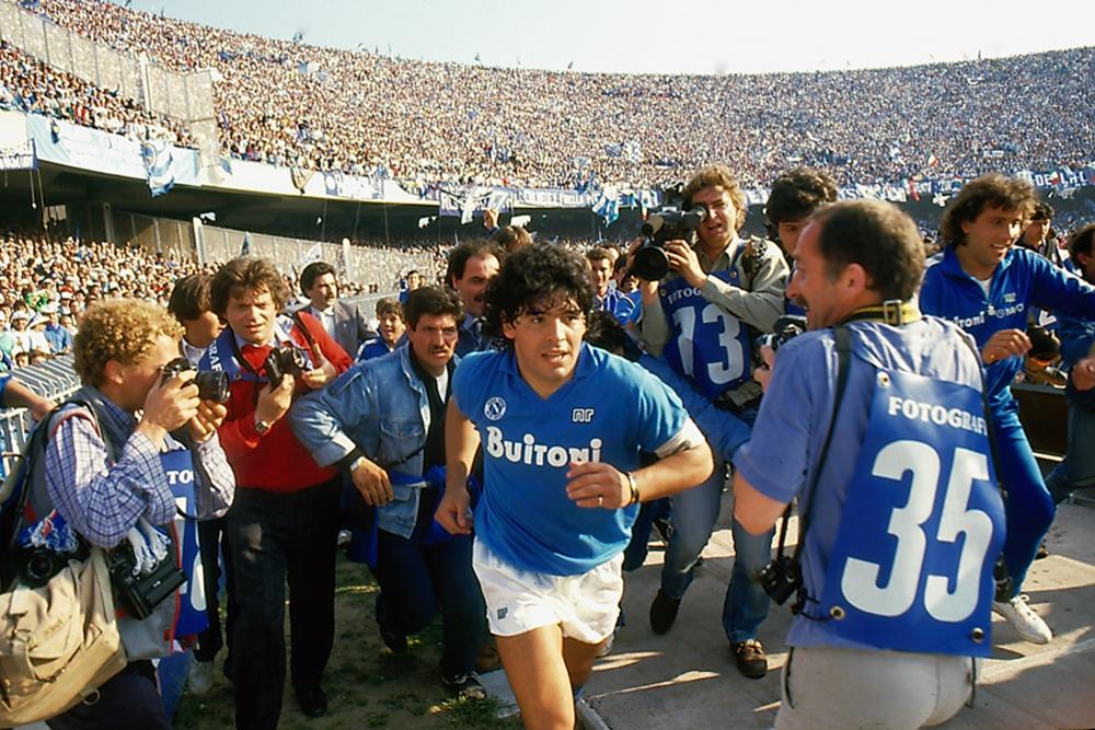 Diego Maradona: Maradona in un'immagine del documentario ...