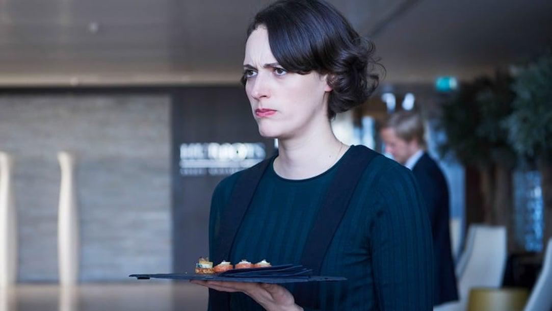 Fleabag: Phoebe Waller-Bridge in una scena della seconda stagione