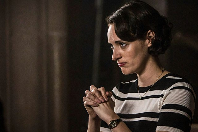 Fleabag: Phoebe Waller-Bridge in una sequenza della seconda stagione