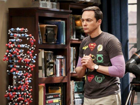 The Big Bang Theory: Jim Parsons in una scena del finale di serie